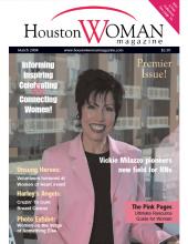 Vickie Milazzo in Houston Woman Magazine