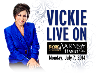 Vickie Live on FOX Business Network's Varney & Co.
