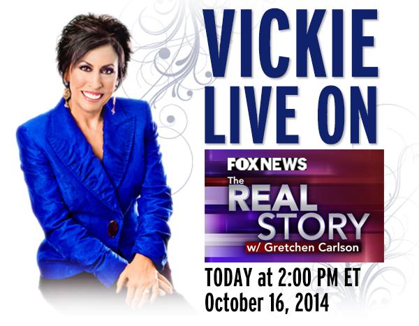 VICKIE LIVE ON FOX