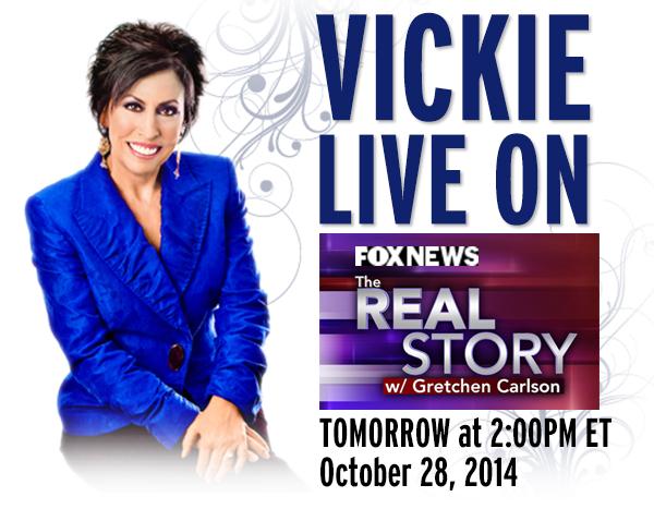 Vickie LIVE On FOX NEWS Tomorrow