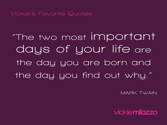 Vickie's Favorite Quotes: Mark Twain