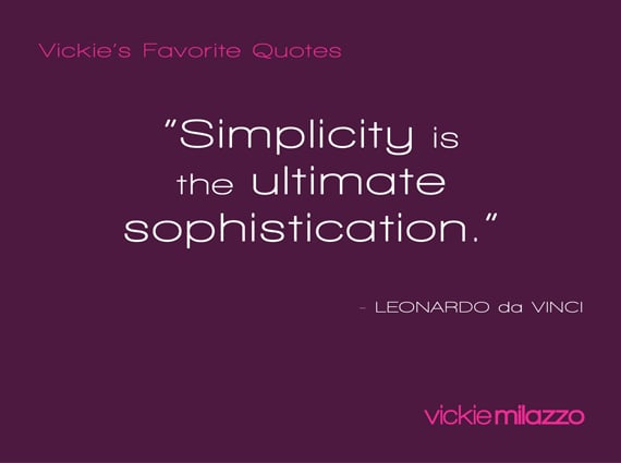 Vickie's Favorite Quotes: Leonardo da Vinci