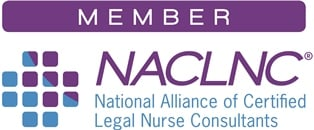 Member National Alliance of Certified Legal Nurse Consultants