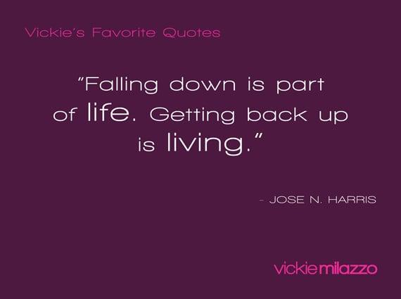 Vickie's Favorite Quotes: Jose N. Harris