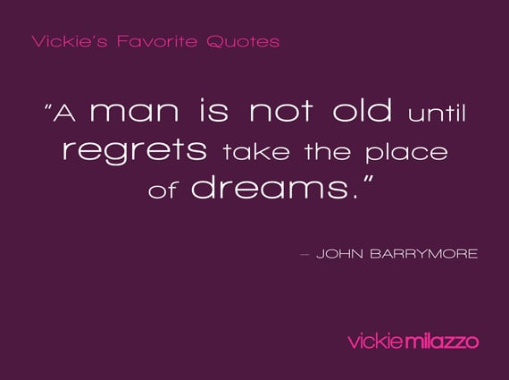 Vickie's Favorite Quotes: John Barrymore