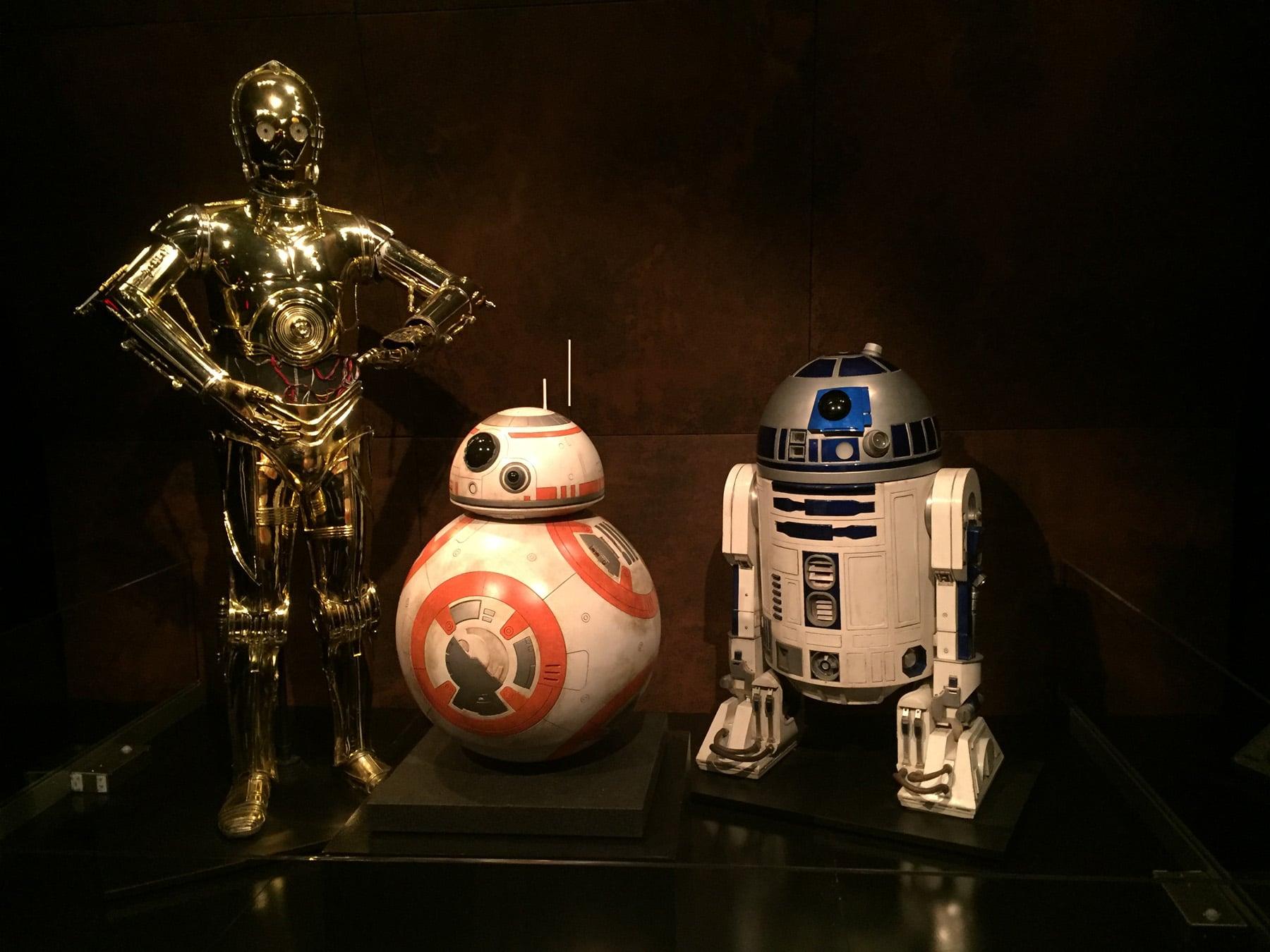 Star Wars Droids R2-D2 C-3PO BB-8