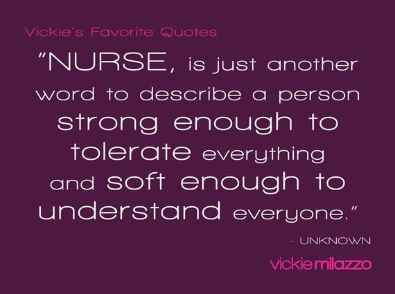 Vickies Favorite Quote Nurse Is Just Another Word To Describe A