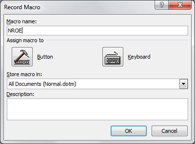 Tom's Tech Tip: MS Word Macros Made Simple for Certified Legal Nurse Consultants