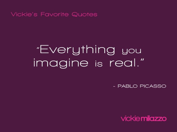 Vickie Milazzo's Favorite Picasso Quote About Imagination