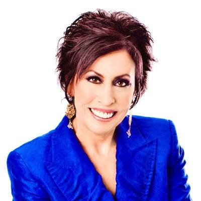 Vickie Milazzo, blue jacket
