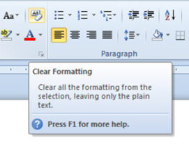 How to Clear Formatting in Microsoft Word – Made Easy for Certified Legal Nurse Consultants