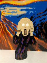 Scream - The Art of the Brick